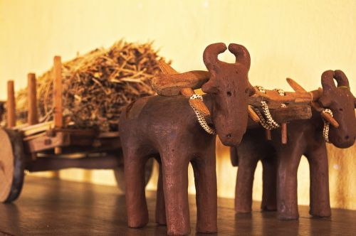 oxcart clay old