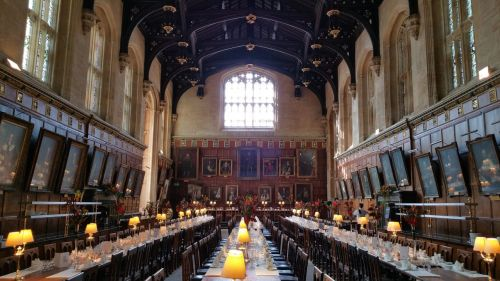 oxford,historic,city,england,harry potter,great hall,christchurch,building