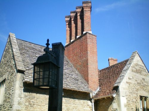 oxford,england,building,house,chimney
