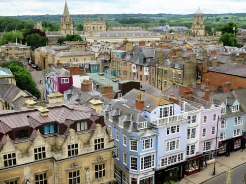 oxford oxfordshire rooftops