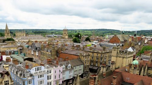 oxford city rooftops