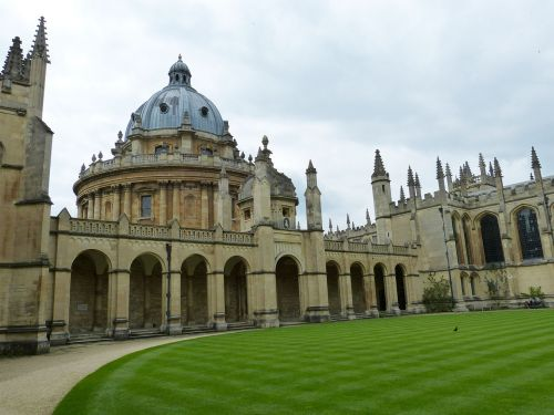oxford,england,building,architecture,university,college,historically,united kingdom,gothic,dome,arcades,rush