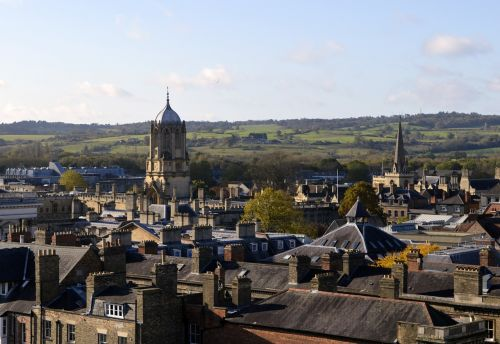 oxford,town,skyline,buildings,architecture,england,old,city,uk,british,europe,history,view,historic,stone,sky,traditional