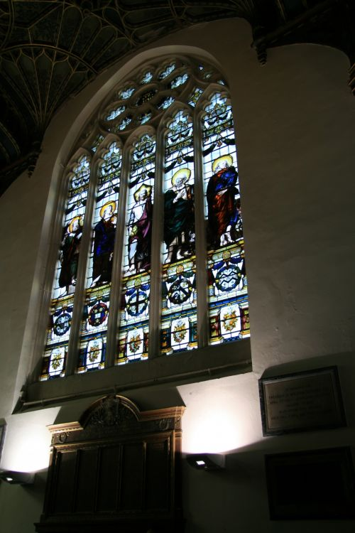 Oxford England Church Stained Glass