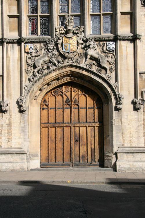 Oxford England Door