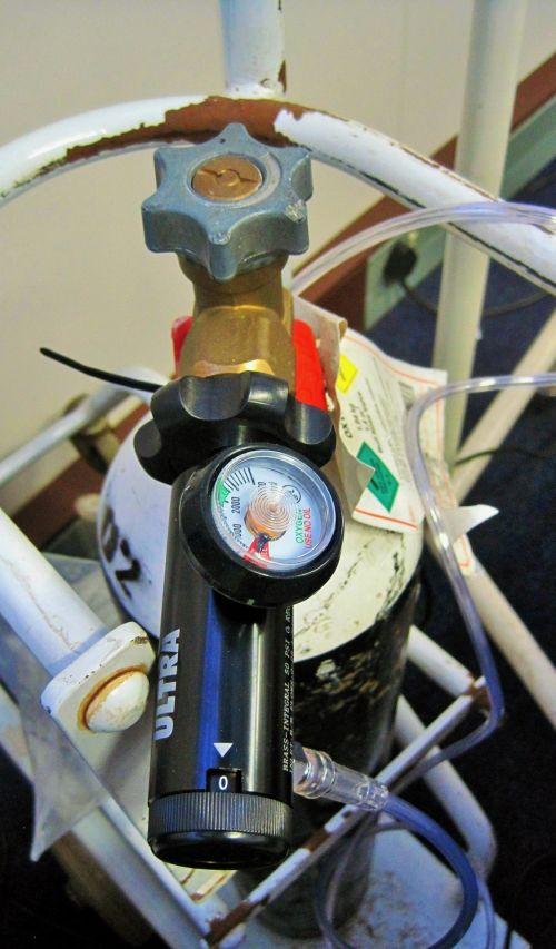 Oxygen Cylinder Gauge