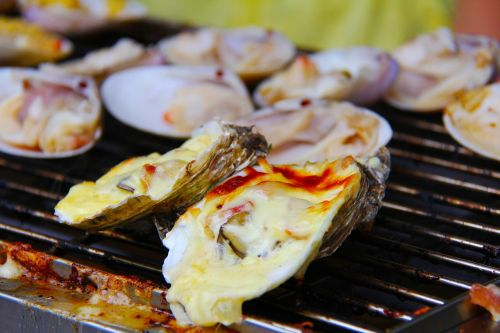 oyster bbq grilled