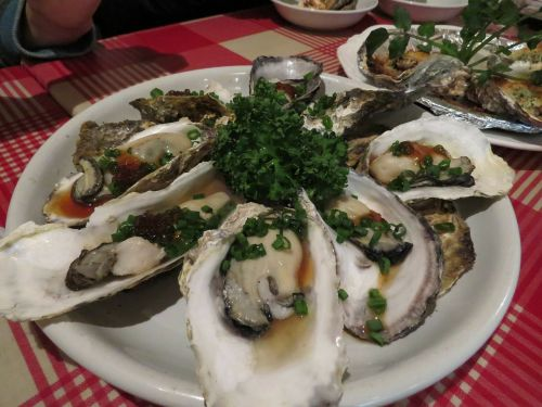 oysters food japanese