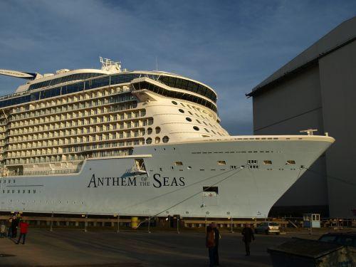 ozeanriese anthem of the seas meyer shipyard