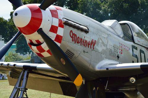 p51 mustang plane fighter plane