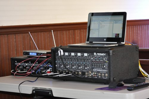 pa system  sound  system