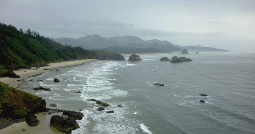 pacific coast fog