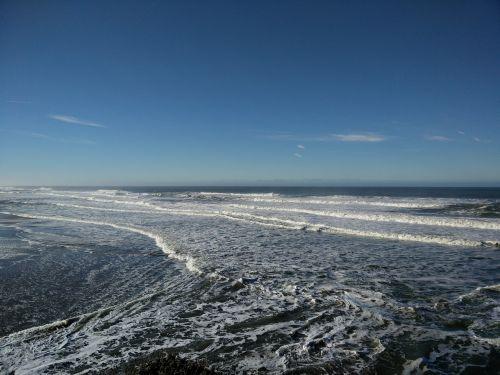 pacific ocean water