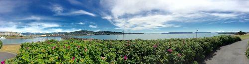 pacific northwest bellingham panorama