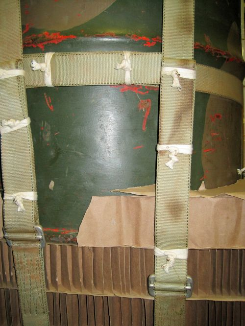 Packaging Fuel Drums For Air Drops