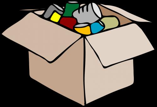 packing box storage