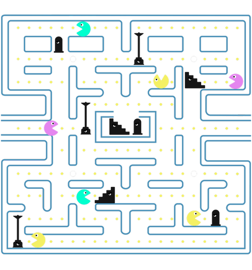pacman  game  videogame
