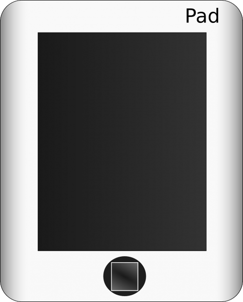 pad tablet screen