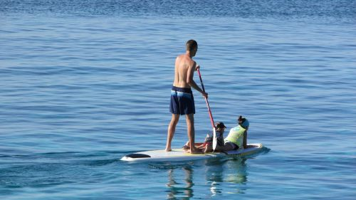 paddle surfboard vacation