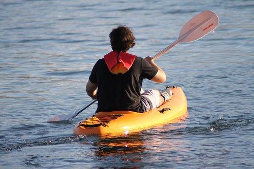 paddle  kayak  kayaking