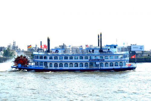 paddle steamer ship steamer