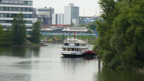 paddle steamer boot ship