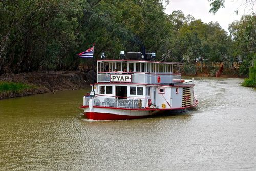 paddle steamer paddle boat river boat