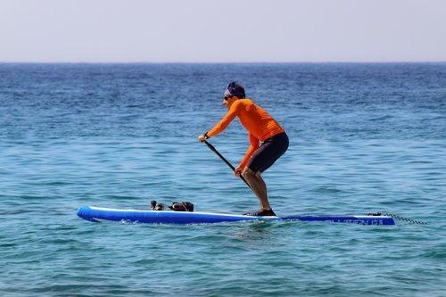 paddleboarding  sport  paddle