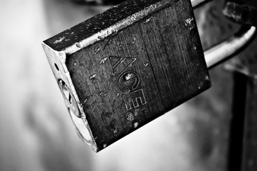 padlock locked security