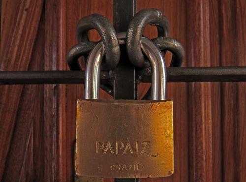 padlock chain lock