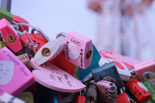 padlock colors messages