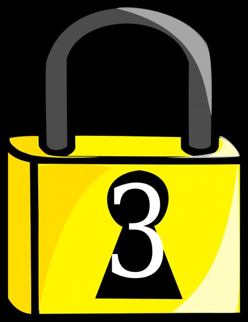 padlock three lock