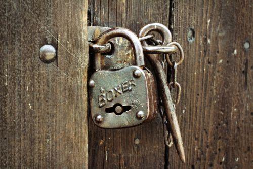 padlock castle security