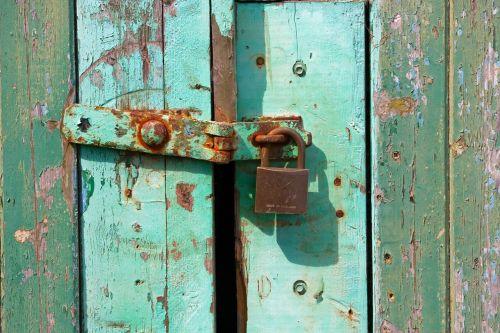 padlock grunge rusty