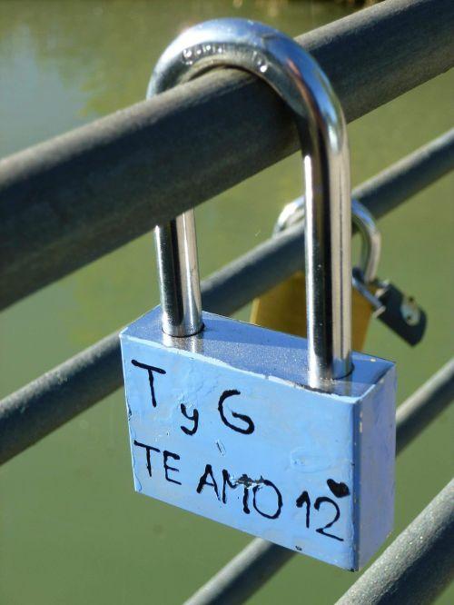 padlock love aranjuez