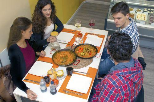 paella food restaurant