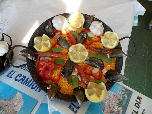 paella spain food