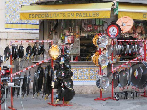 paella pans shop