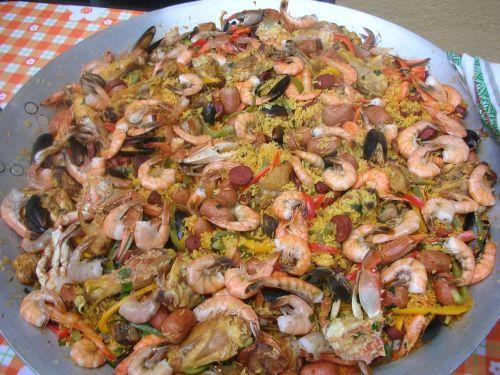 paella food nutrition