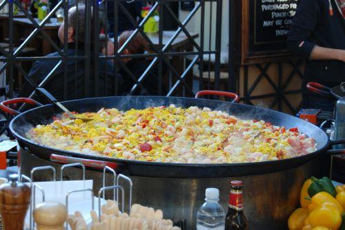 paella london street food