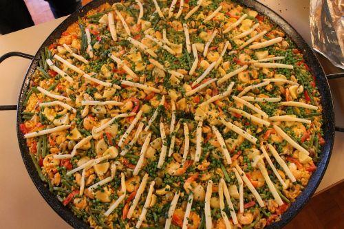 paella spain eat