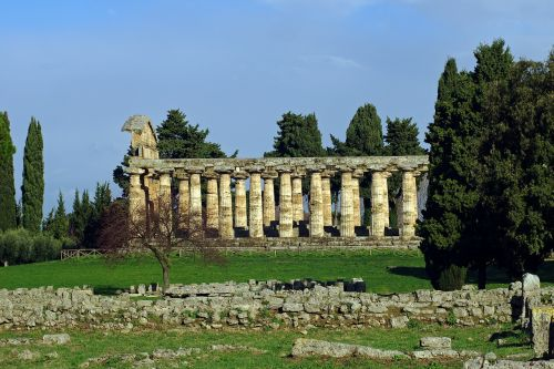 paestum time to atena salerno