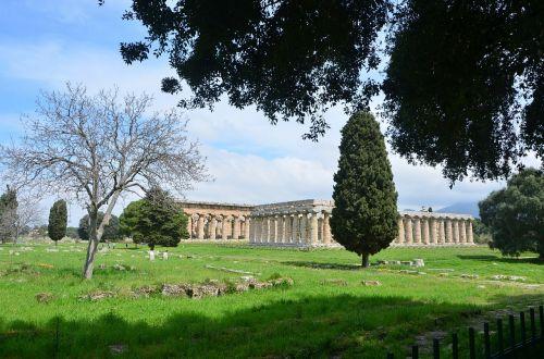 paestum temples campania