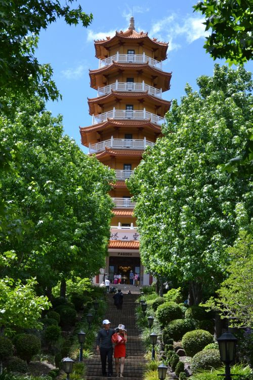 pagoda tower alignment