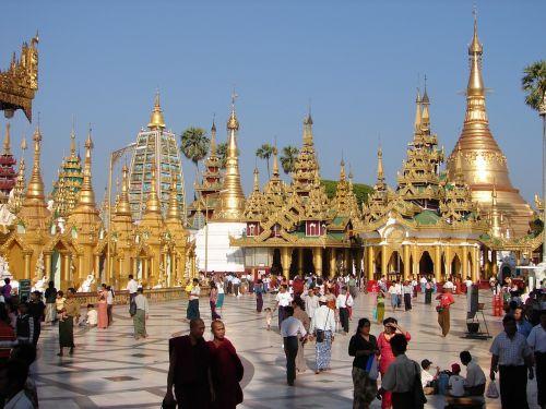 pagoda schwedaggon burma