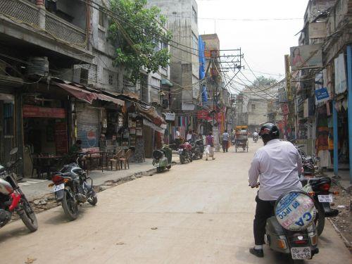 paharganj delhi street