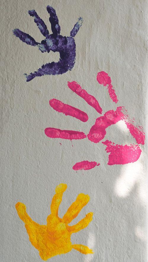 paint color finger