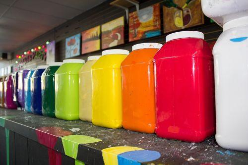 paint colors colorful