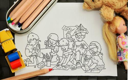 paint tinker kindergarten