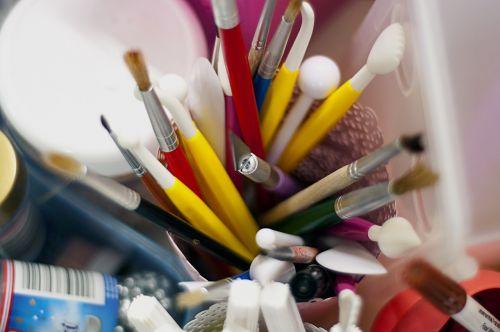 paint brushes art